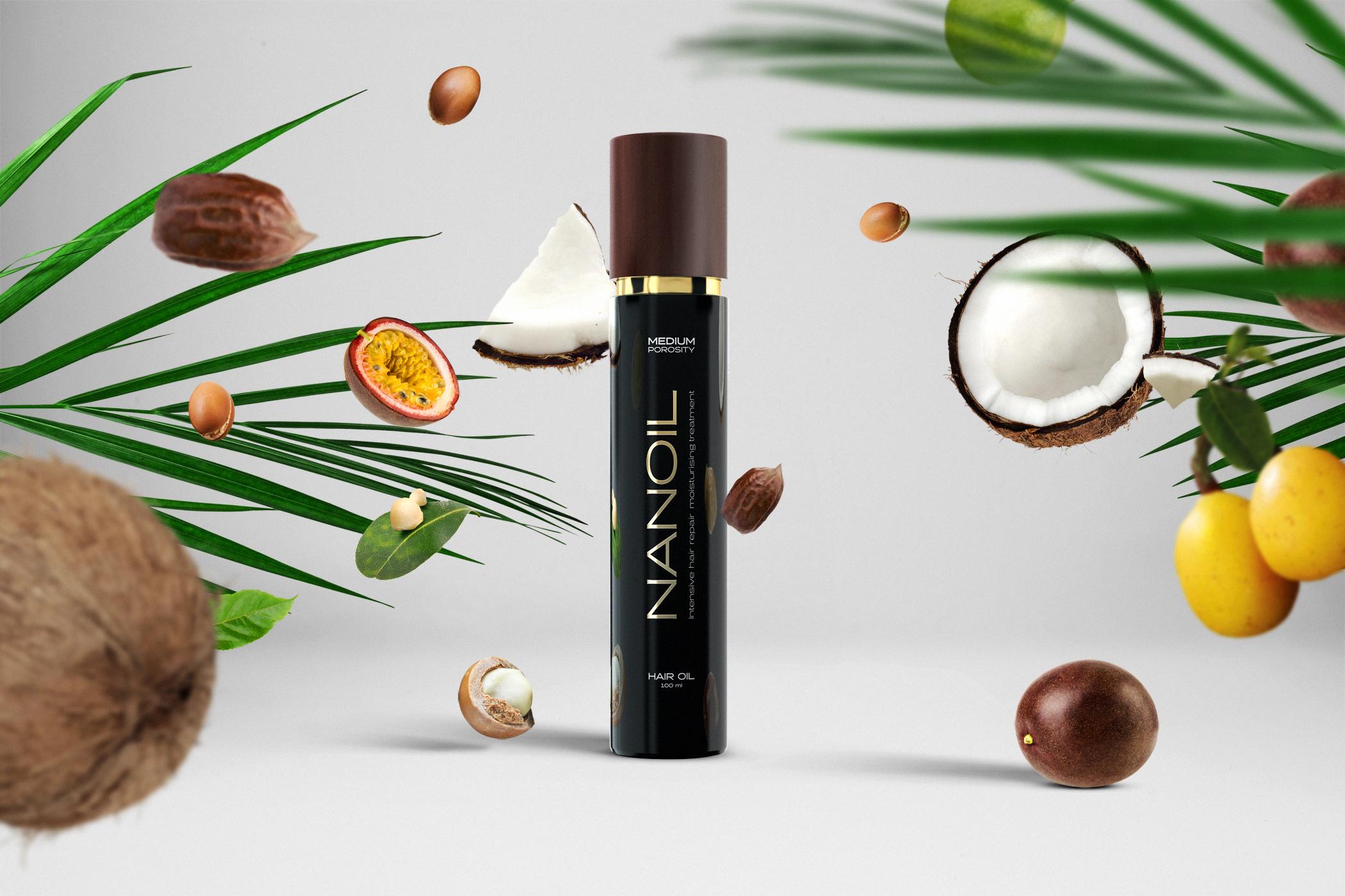 Iconic hair oil - NANOIL